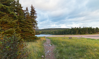 Path To Broad Cove Lake (Cape Breton Highlands National Park)