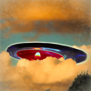 Candle Powered Flying Saucer