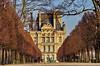471 Paris en Février 2018 - dans le Jardin des Tuileries, avec Le Louvre au fond (paspog) Tags: paris france jardindestuileries jardin parc park louvre terrasse février february februar 2018