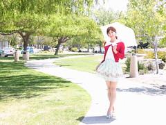 day284-23 Just a Happy Sunny Day with Prime Pattern (Yumiko Misaki) Tags: day284 blouse skirt dress ankrouge lizlisa primepattern kawaii cute transgender transsexsual transvestite crossdresser crossdressing
