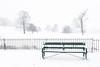 Palace fields (Clickingnan) Tags: wells snow bench fields