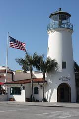 Santa Barbara (davidjamesbindon) Tags: town america states united usa california barbara santa lighthouse road street building
