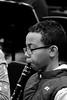Clarinet (FitzJohnson) Tags: clarinet music musical musicalinstrument woodwind mouthpiece clarinetist blackandwhite blackwhite bw monochrome monochromatic kid canon canonrebel 600d t3i portrait nebraska