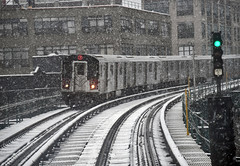 MTA at Work Through Spring Snowstorm (MTAPhotos) Tags: queens ny usa mta nyct newyorkcitytransit storm snowstorm