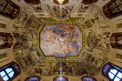 Ceiling Art (CoolMcFlash) Tags: art ceiling architecture lowangleview symmetry symmetrie room belvedere palace vienna fujifilm xt2 pov pointofview kunst decke architektur raum wien perspective fotografie photography xf1024mmf4 r ois