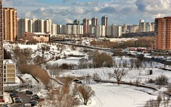 now this is March! (vitalsimonovjb) Tags: moscow russia spring landscape architecture nature forest river