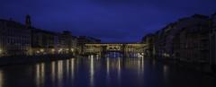 Ponte Vecchio from Ponte Santa Trinita at dawn 1- (jdl1963) Tags: travel europe italy florence tuscanny firenze ponte vecchio bridge river arno dawn morning blue hour