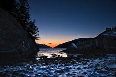 Sognefjorden kveld2 (KjellAV) Tags: sogn vikisogn norway winter sunset sognefjord water vann lys sol sun light ice is natur nature