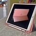 Rose Gold iPad Cover & Stand (Front & Back)