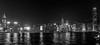 Pano of Lights mono - Hongkong 98/188 (*Capture the Moment*) Tags: 2017 hongkong nacht nachtaufnahmen night nightshot panoshot panorama panoramaview panoramablick sonya7m2 sonya7mii sonya7mark2 sonya7ii sonyfe2470mmf4zaoss sonyilce7m2 monochrome schwarzweiss