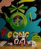 66 - 365 favourite albums 2 (horsesqueezing) Tags: clonetroopers ritzcrackers toys 365 tea teapot gong flyingteapot