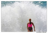 Surf Life Saver facing the wild seas (Right On Photography) Tags: surf life savers nsw blacksmiths beach lakemacquarie seas rough