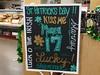 Hyvee, St Patrick Related 2-21-18 03 (anothertom) Tags: iowa coralville hyvee grocerystore shopping saintpatricksday sign irish holiday march17th kissme lucky shamrock green clover 2018 sonyrx100v