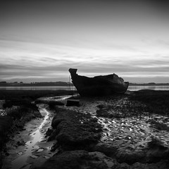 The old wreck (Stephen McNally / chasmcn) Tags: bw blackandwhite fleetwood
