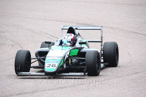 Kiern Jewiss in British F4 pre-season testing 2018