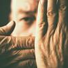 Hands (Blues Views) Tags: collective52photoproject canon600d canon50mmf14 selfportrait autoportrait nikcolourefexpro4 vintagelook portrait depthoffield dof