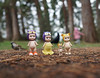 Visiting in the Woodland (omgdolls) Tags: sonny angels wiener wednesday owl tiger