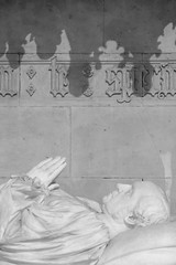 York Minster (<p&p>photo) Tags: cathedral yorkminster york minster yorkshire england uk archbishop bishop church williamthomson william thomson archbishopthomson archbishopwilliamthomson memorial mono bw blackwhite blackandwhite black white statue sculpture art publicart building history historic ancient architecture fujix fuji fujifilm
