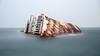 Rust in (one) piece (alexring) Tags: shipwreck mediterraneansky greece elefsina bay longexposure mist fog duststorm nikon d750 alexring