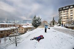 La nevada del año (noldor12) Tags: callearteaga barakaldo bizkaia paísvasco spain nieve snow canoneos6d canonef1635f4lisusm