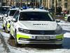 Copenhagen Police VW Passat traffic patrol car AU96704 (sms88aec) Tags: copenhagen police vw passat traffic patrol car au96704