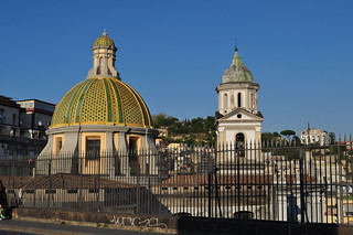 Basilique Santa Maria della Sanità (XVIIe), piazza Sanità, Naples, Campanie, Italie.