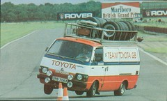Team Toyota GB Hiace rally support van (Nivek.Old.Gold) Tags: teamtoyotagb hiace ccc 1982 rally van upd706x