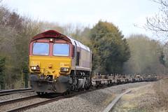 66121 (4O91) (Worcestershed) Tags: 66230 66143 66017 66092 66121 66001 class66 ews dbc dbcargo