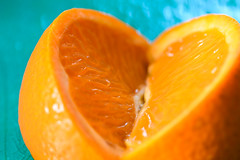 Orange Heart (Eric Tischler) Tags: macromondays citrus