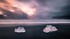 Diamond beach - Iceland - Seascape photography (Giuseppe Milo (www.pixael.com)) Tags: photo sand landscape nature water glacier weather clouds iceland beach diamond iceberg travel icelandic photography longexposure sky seascape sea europe geotagged ice easternregion is onsale