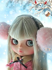 Charlotte and snow