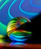 Rainbow Pacman (skol-louarn) Tags: rainbow arcenciel pacman canoneos7d canonef100mmf28lmacroisusm boule reflets sphere
