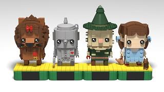 Wizard Of Oz BrickHeadz