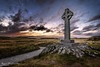 The Celtic Cross on the Beautiful Llanddwyn Island - Anglesey (karlmccarthy1969) Tags: cross island celtic sunset