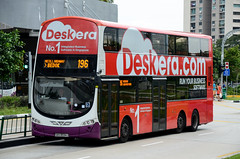 SBS Transit Volvo B9TL Wright Eclipse Gemini II (nighteye) Tags: sbstransit 新捷运 volvo b9tl wright eclipse geminiii weg2 eurov sbs3034j service196 deskera singapore bus