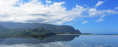 Reflections of kauai by WyattG (wyattgphotography) Tags: kauai princeville balihai hanalei reflection paradise puffthemagicdragon stunningnikon nikonstunning