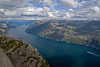 "(4/99) 58°59'11.2""N 6°11'22.5""E (ponzoñosa) Tags: preikestolen pulpit rock fjord fiordo norway noruega atlantic hiking forgotten places"