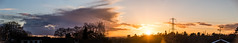 Sunset 07 March 2018 (10)-Pano (BaggieWeave) Tags: berkshire littlesandhurst sandhurst sunset panorama cumulonimbus clouds