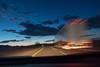 Twilight Cruisin' (AlexZustra) Tags: desert motionblur truck semitruck twilight