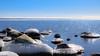 Icy rocks (Explore) (Cajofavi) Tags: fs180318 punctum fotosondag water ice snow sea rock landscape sky kalmar sweden