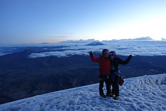 Summit of Cotopaxi - Christmas Day (*Andrea B) Tags: cotopaxi cotopaxivolcano volcano volcan volcancotopaxi ecuador december 2017 december2017 christmas glacier national nationalpark parque alpine climb climbing mountaineering