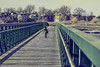 A Long Bridge and a Short Kid (Paul B0udreau) Tags: nikkor70300mm photoshop canada ontario paulboudreauphotography niagara d5100 nikon nikond5100 raw layer stcatharines colton