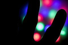 Finger Silhouette (adamopal) Tags: canon canon7d canon7dmkii canon7dmarkii fingersilhouette finger silhouette accidentalidea backlight backlightexperiment lightexperiment lightingexperiment experiment macro macro100mm 100mm black white red pink blue purple green