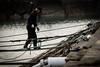 漁港の情景 #2ーScenery of fishing port #2 (kurumaebi) Tags: yamaguchi 秋穂 nikon d750 nature 自然 landscape 海 sea 夕焼け dusk 鳥 漁港 漁師