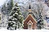 Yosemite Valley Chapel (Steve Corey) Tags: yosemitevalleychapel yosemitenationalpark church snow sundaybest pinetrees belltower historical
