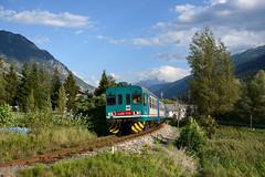 Aln663 1113 (Paolo Brocchetti) Tags: aosta présaintdidier aln663 ferrovia morgex nikon d800