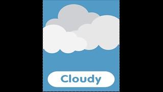 متع عقل طفلك |كلمات عربي انجليزي - مفردات حالة الطقس بالانجليزي | الطقس غائم - Its Cloudy