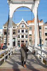 Pelserbridge Zwolle (Thea Teijgeler) Tags: zwolle brug bridge pelserbrug pelserbridge thorbeckegracht thorbeckecanal