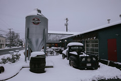 Spring Snow (Rob Bowman Photo) Tags: independentbrewingcompany belair maryland unitedstates us sony rx0
