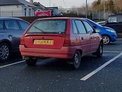 1994 Citroën AX Jive (>Tiarnán 21<) Tags: marshmello citroen ax jive red rare l451kaj